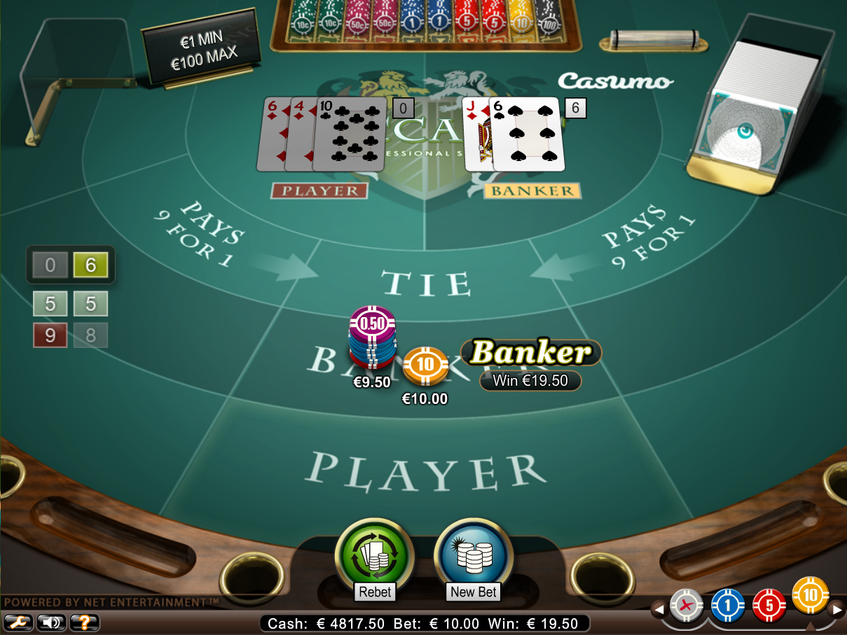 Bitstarz Bitcoin Casino baccarat