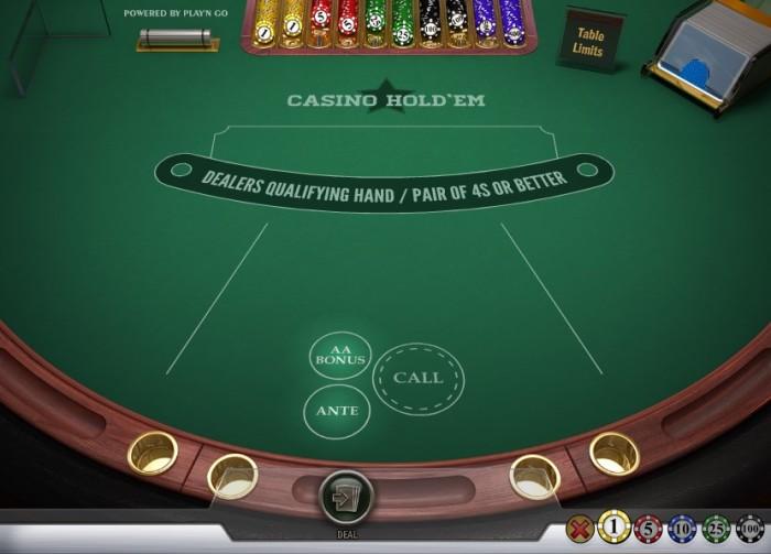 Vegascasino.io poker