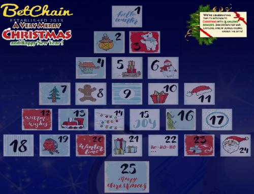 BetChain 2018 Advent Calendar Promotion