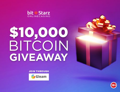 Win a Share of $10,000 BTC in the latest BitStarz Bitcoin Giveaway!