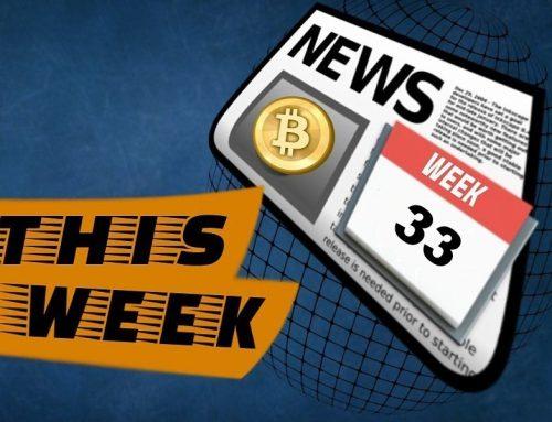 Crypto news update: week 33 2019
